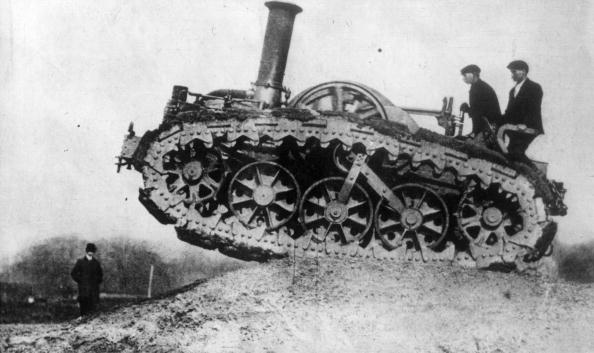 Armored Tank「Caterpillar Tractor」:写真・画像(5)[壁紙.com]