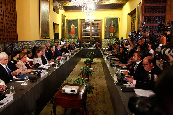 Politics「Lima Group Meets To Discuss Situation In Venezuela」:写真・画像(7)[壁紙.com]