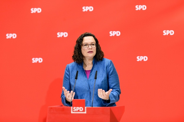 上半身「Political Parties React To Bavarian State Elections Results」:写真・画像(8)[壁紙.com]