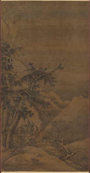 Grove「Birds In A Grove In A Mountainous Winter Landscape」:写真・画像(11)[壁紙.com]