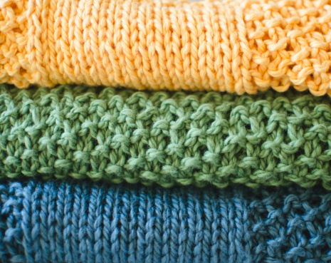 Art And Craft「Stack of knitted blankets」:スマホ壁紙(2)