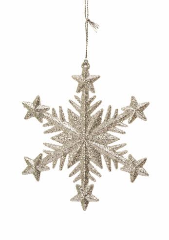 雪の結晶「輝くの結晶のオーナメント」:スマホ壁紙(15)