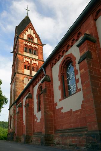 High Dynamic Range Imaging「Church in Mettlach」:スマホ壁紙(2)