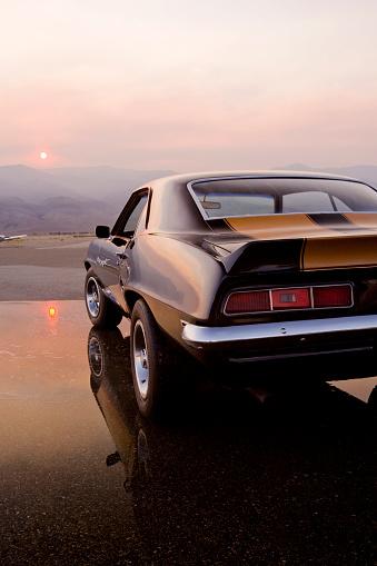 Hot Rod Car「American Muscle Car」:スマホ壁紙(1)
