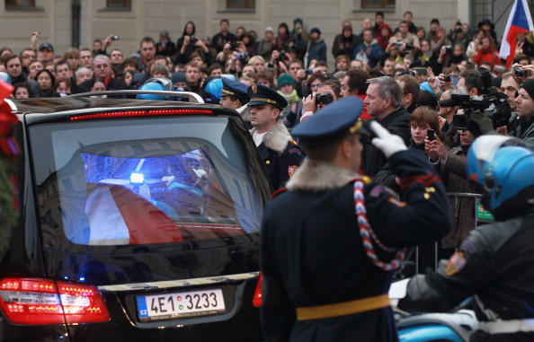 St Vitus's Cathedral「State Funeral Of Vaclav Havel」:写真・画像(3)[壁紙.com]