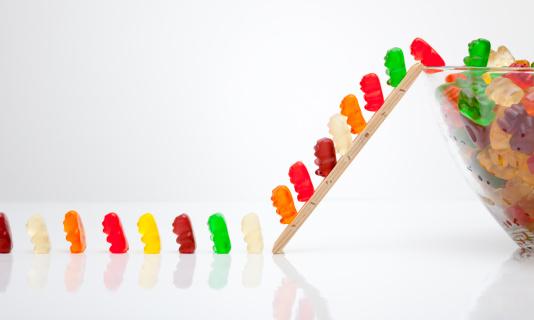 グミ・キャンディー「楽しい gumibears」:スマホ壁紙(10)