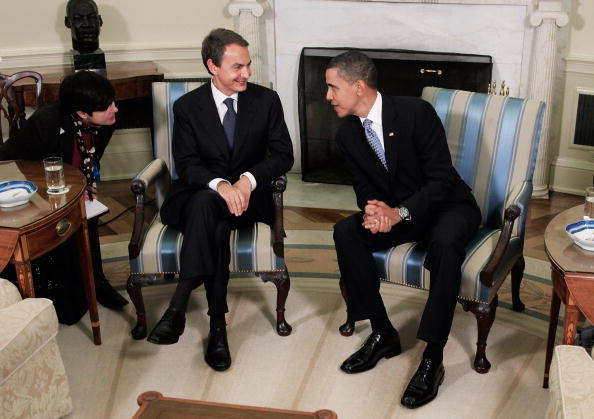 Jose Luis Rodriguez Zapatero「Obama Meets With Spanish Prime Minister Zapatero At White House」:写真・画像(16)[壁紙.com]