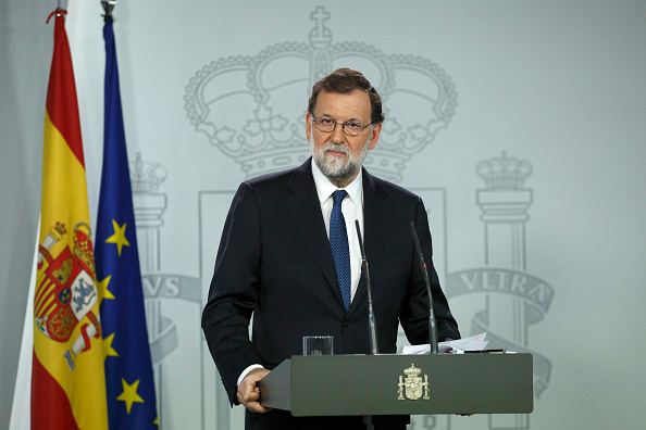 Mariano Rajoy Brey「Spanish Extraordinary Cabinet Session To Take Measures Against Catalonia's Independence」:写真・画像(6)[壁紙.com]