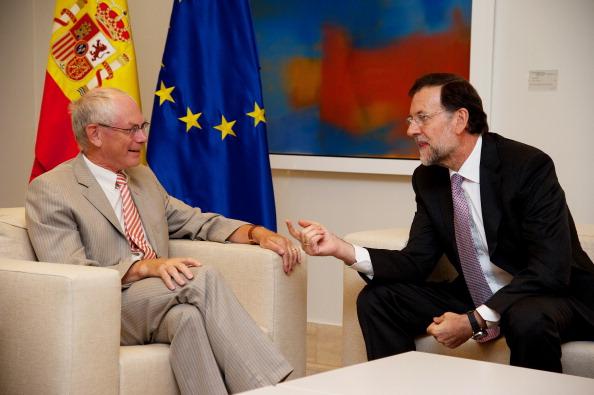Corporate Business「President Rajoy Meets EU President Herman Van Rompuy in Madrid」:写真・画像(18)[壁紙.com]