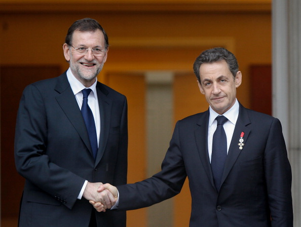 Mariano Rajoy Brey「Mariano Rajoy Meets Nicolas Sarkozy at Moncloa Palace」:写真・画像(14)[壁紙.com]