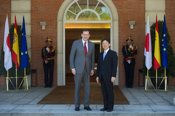 Japanese Royalty「President Mariano Rajoy Meets Japanese Crown Prince Naruhito」:写真・画像(5)[壁紙.com]