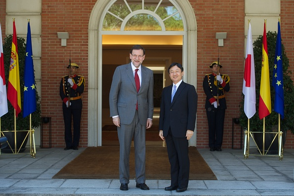 Japanese Royalty「President Mariano Rajoy Meets Japanese Crown Prince Naruhito」:写真・画像(7)[壁紙.com]