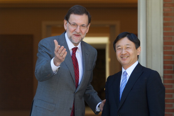 Japanese Royalty「President Mariano Rajoy Meets Japanese Crown Prince Naruhito」:写真・画像(6)[壁紙.com]
