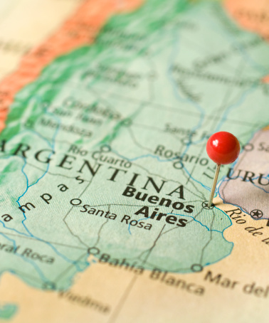 Buenos Aires「Map Of Buenos Aires,Argentina」:スマホ壁紙(9)