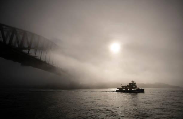 Thick Fog Blankets Sydney Harbour:ニュース(壁紙.com)