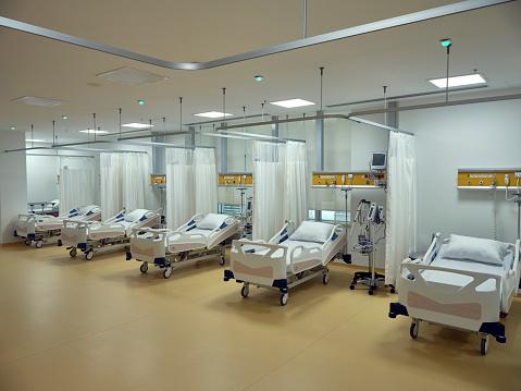 Healing「Empty beds in the emergency room.」:スマホ壁紙(18)