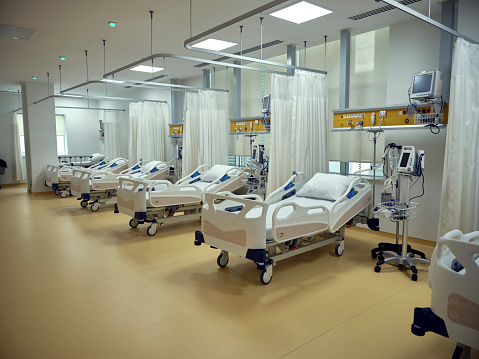 Healing「Empty beds in the emergency room.」:スマホ壁紙(6)