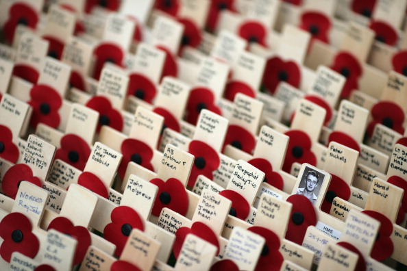 Dan Kitwood「A Field Of Crosses Is Created Ahead Of Remembrance Day」:写真・画像(6)[壁紙.com]