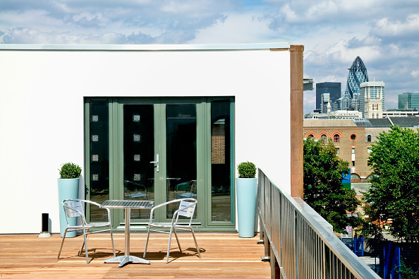 Patio Doors「Roof terrace, Borough, London, UK」:写真・画像(15)[壁紙.com]