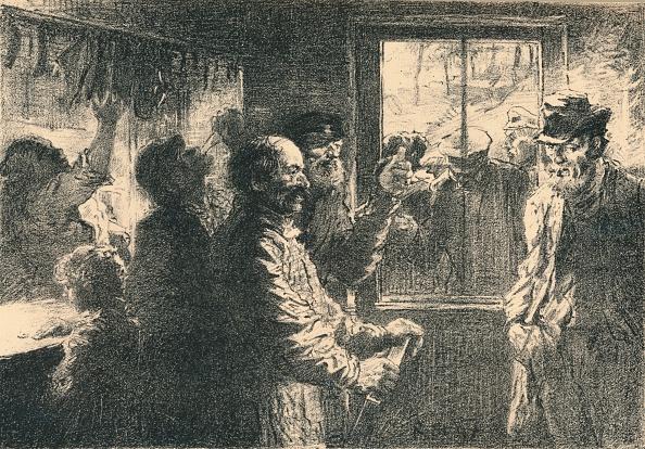 夜景「Dammerung, c1887-1898, (1898). Artist: Robert Hermann Sterl」:写真・画像(9)[壁紙.com]