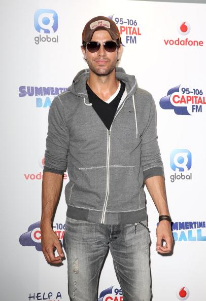 Enrique Iglesias - Singer「Capital Summertime Ball - Photocall」:写真・画像(17)[壁紙.com]