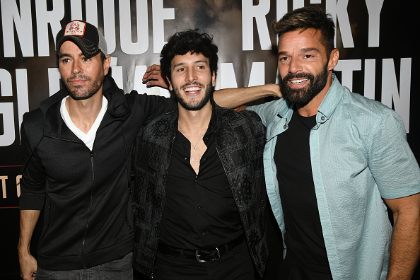 Sebastián Yatra「Enrique Iglesias x Ricky Martin Press Conference」:写真・画像(5)[壁紙.com]