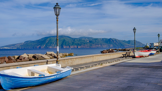 Lipari Island「Lingua coastline on Salina, the second largest island in the Aeolian Islands (Sicily, Italy)」:スマホ壁紙(13)