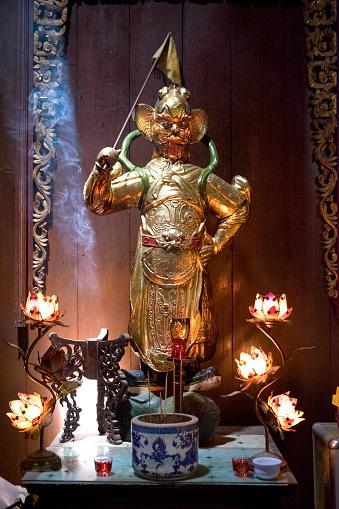 仏像「Vihn Trang Pagoda, My Tho, Vietnam」:スマホ壁紙(19)