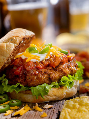 Sour Cream「The Taco Seasoned Burger」:スマホ壁紙(14)