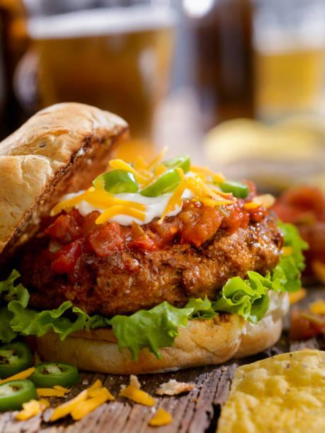 The Taco Seasoned Burger:スマホ壁紙(壁紙.com)