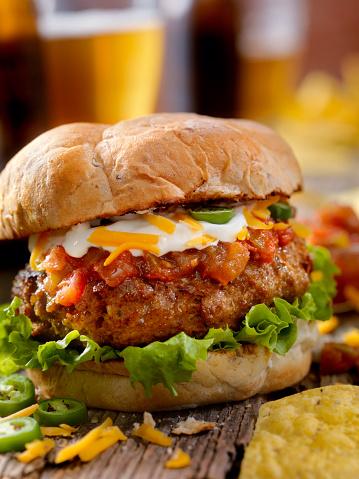 Sour Cream「The Taco Seasoned Burger」:スマホ壁紙(4)