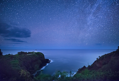 Milky Way「Kilauea Lighthouse, Kauai」:スマホ壁紙(19)