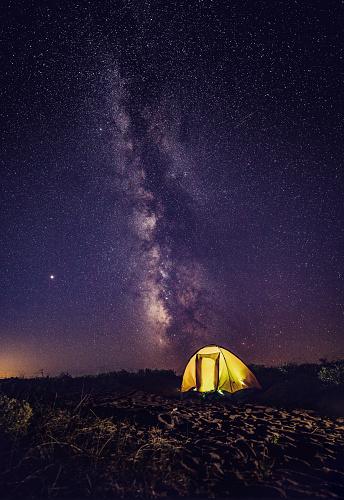 Tent「Camping under the stars!」:スマホ壁紙(4)