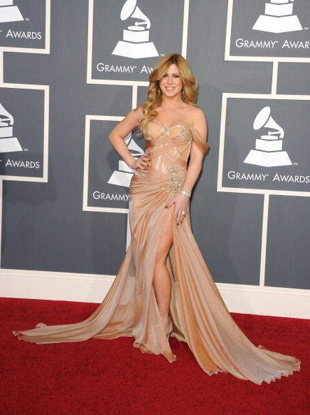 Slit - Clothing「The 53rd Annual GRAMMY Awards - Arrivals」:写真・画像(13)[壁紙.com]