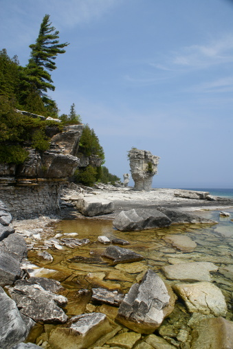 Bruce Peninsula National Park「Rugged Canadian Shoreline」:スマホ壁紙(10)