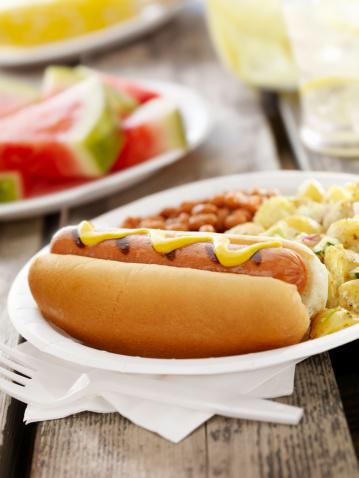 Lemon Soda「BBQ Hotdog with Lemonade」:スマホ壁紙(2)