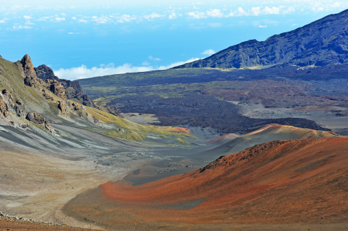 Haleakala National Park「Haleakala crater, Maui Island, Hawaii」:スマホ壁紙(10)