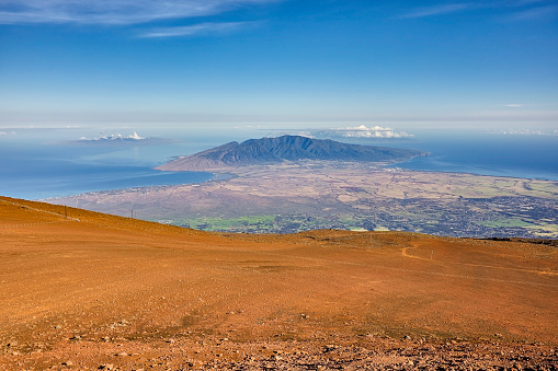 Pukalani「Haleakala Crater summit, Haleakala visitors centre, Haleakala National Park,Maui,Hawaii,USA」:スマホ壁紙(10)
