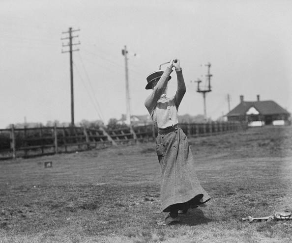 1900-1909「Mrs Gordon Robertson, British Golfer」:写真・画像(5)[壁紙.com]
