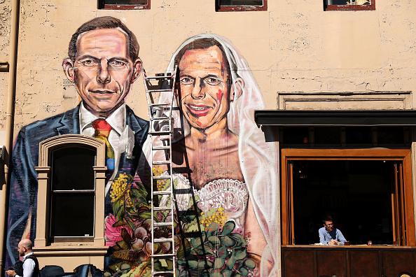 トップランキング「Mural Of Tony Abbott Marrying Himself Goes Up In Support Of Marriage Equality」:写真・画像(3)[壁紙.com]