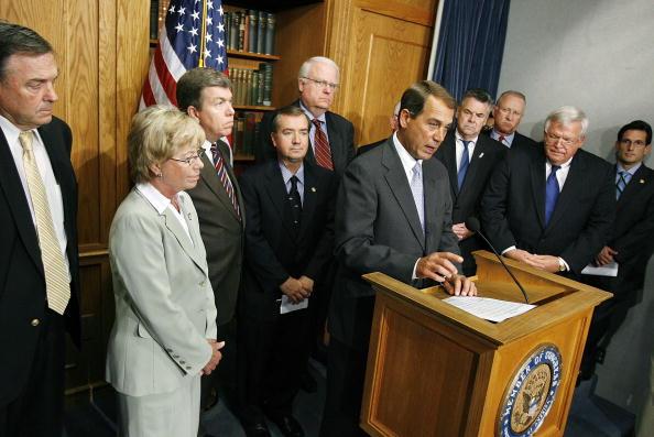 Chip Somodevilla「House GOP Leadership Hold News Conference On Immigration」:写真・画像(9)[壁紙.com]