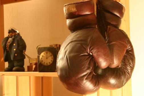 Family Tree「Old boxing gloves on shelves #3」:スマホ壁紙(17)