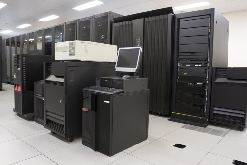 Data Center「Technological room of servers to store & backup information」:スマホ壁紙(5)