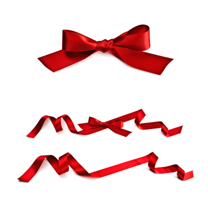 Tied Bow「Red Ribbon」:スマホ壁紙(1)