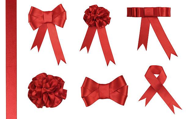 Red Ribbon Gift - Added clipping path:スマホ壁紙(壁紙.com)