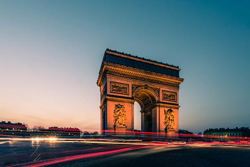 Arc de Triomphe - Paris「Arc de Triumph」:スマホ壁紙(7)