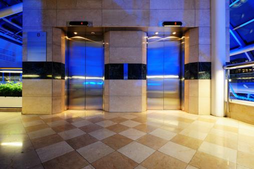 Push Button「Modern elevator doors」:スマホ壁紙(19)