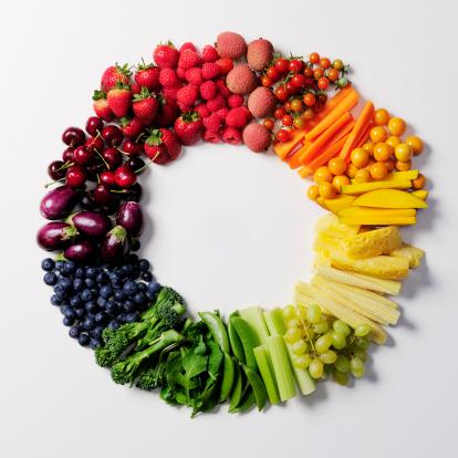 Choice「Fruit & vegetable color wheel.」:スマホ壁紙(2)