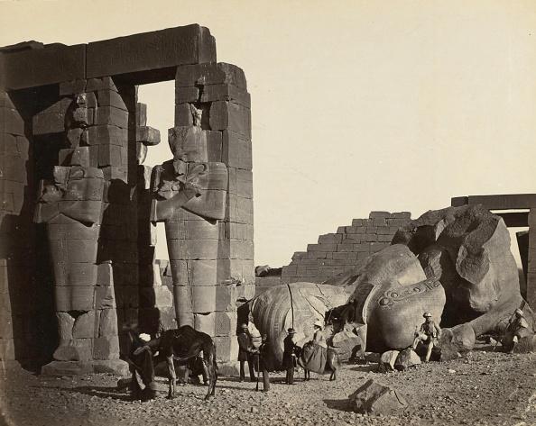 West Bank「Fallen Statue At The Ramesseum」:写真・画像(5)[壁紙.com]