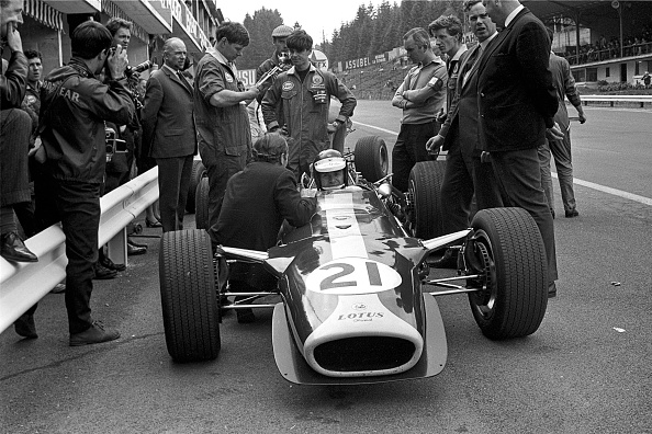 Spa「Jim Clark, Colin Chapman, Keith Duckworth, Grand Prix of Belgium」:写真・画像(15)[壁紙.com]